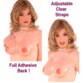 Amazing New Adhesive Cleavage Breast Plate